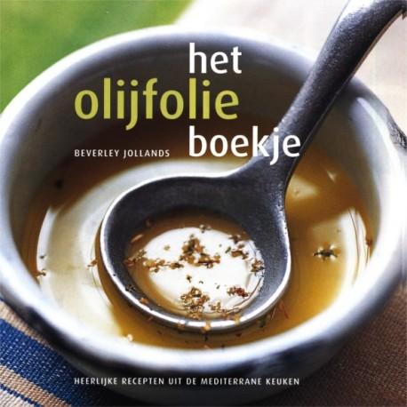 Het olijfolie boekje