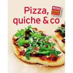 Mini-kookboekje Pizza, quiche & co